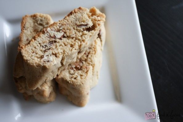 Food n' Focus – Candied Pecan Biscotti