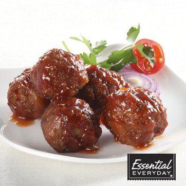 BBQ Appetizer Meatballs   Recipes   Pinterest