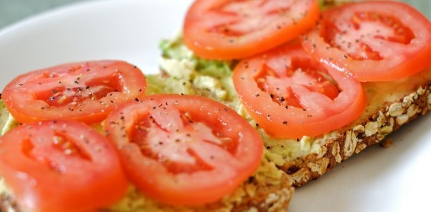 Tomato-Avocado Toasts | Food | Pinterest