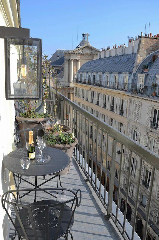 Parisian balcony
