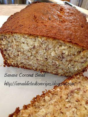 Banana Coconut Bread | Food I would eat.... | Pinterest