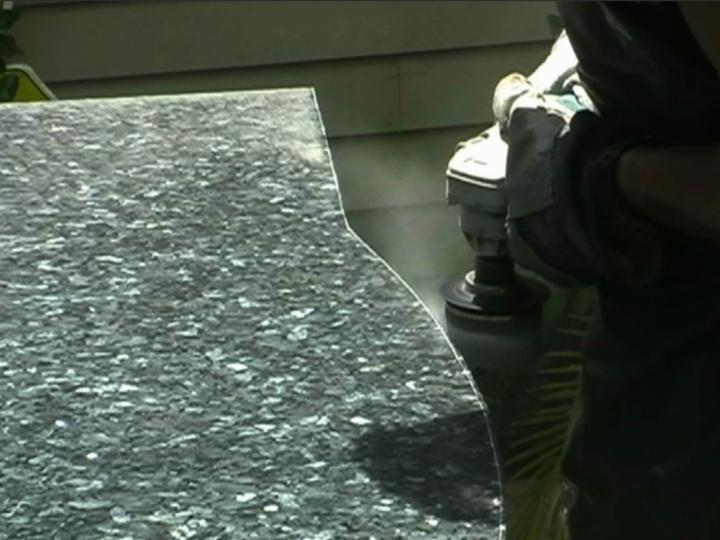 Cutting Granite Countertop : How to Cut a Granite Countertop Stuff to make Pinterest