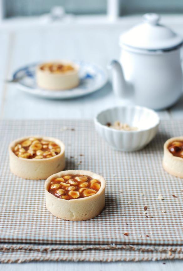 Hazelnut Caramel Tartlets | Did you say caramel? | Pinterest