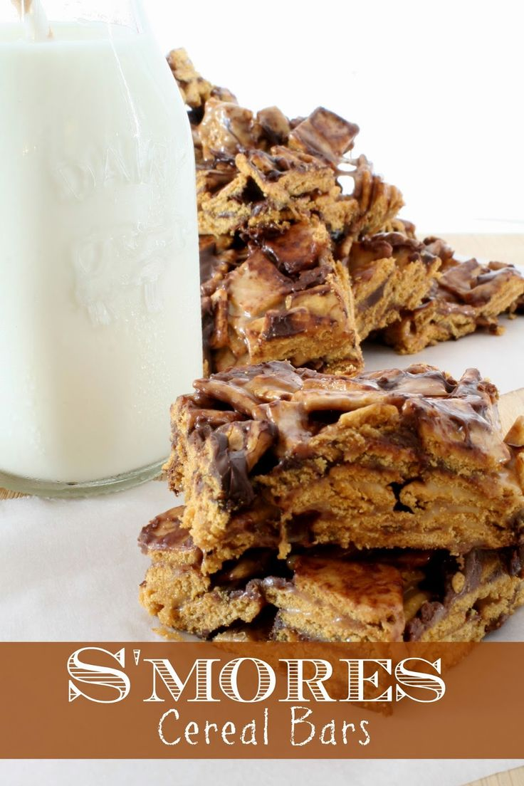 Jordan's Onion: S'mores Cereal Bars