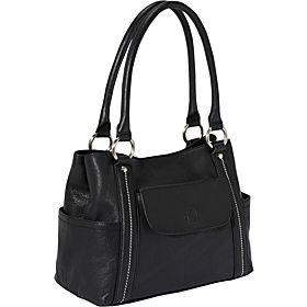 Piazza Sorrento Shopper - Black - via eBags.com!
