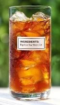 Freshly Brewed Ice Tea With Fresh Mint Recipe — Dishmaps