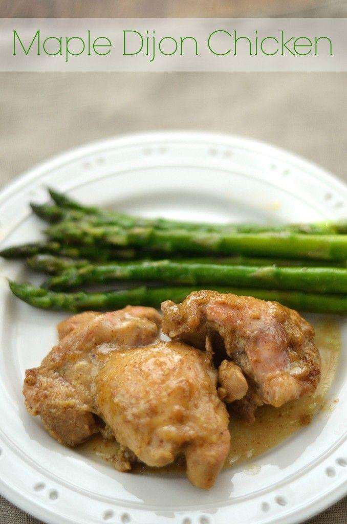 Maple Dijon Chicken | Comfort food | Pinterest