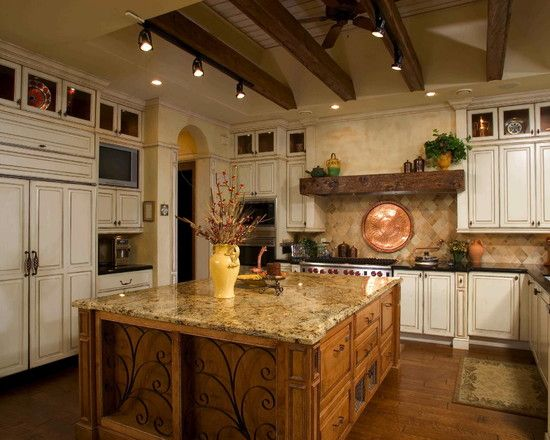 Tuscan lux living life lavish home interior pinterest - Tuscan style kitchen pictures ...