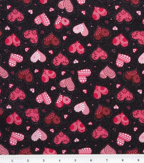 valentine's day fabric patterns