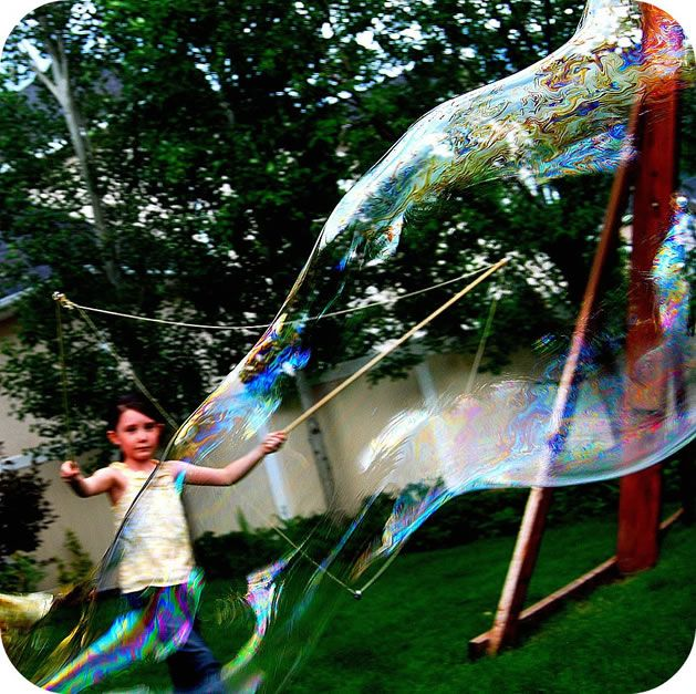 How to giant bubble wands for Giant bubble wand