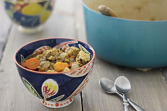 Vegetarian Irish Stew with Sweet Potatoes and Tempeh | Recipe