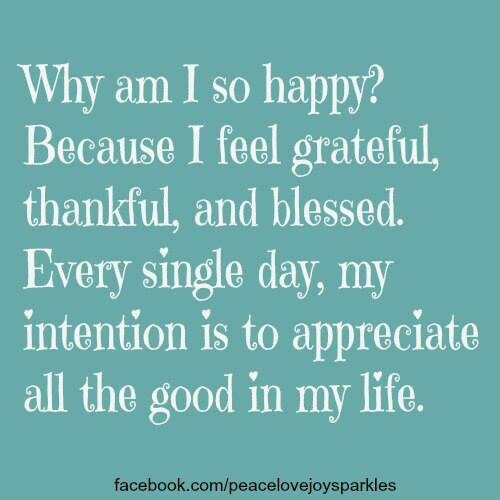 I Am Blessed Quotes And Sayings Why am i so happy? | Q...