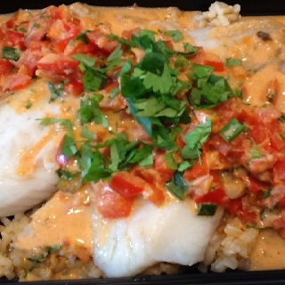 Broiled Tilapia With Thai Coconut Curry Sauce Recipes — Dishmaps