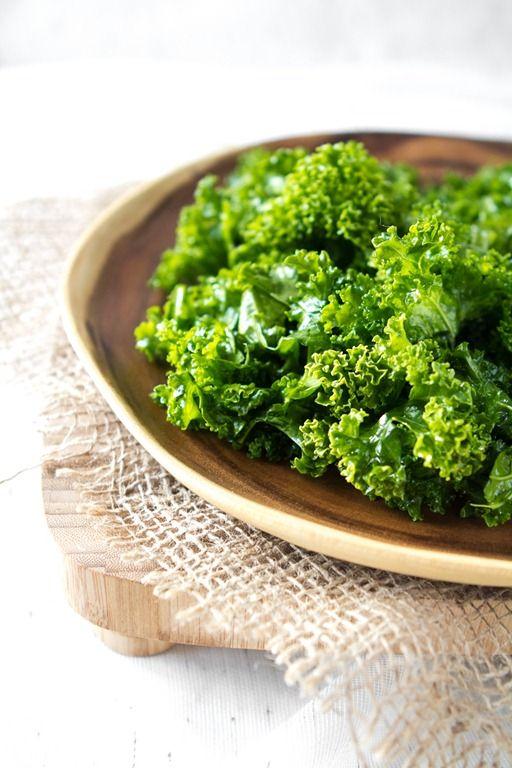 My Go To Kale Salad-marinade the kale in1tbsp oil(olive, flax, hemp ...