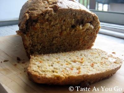 Cinnamon Carrot Cashew Bread | Breakfast | Pinterest