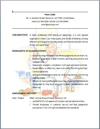 government procurement resume sample
