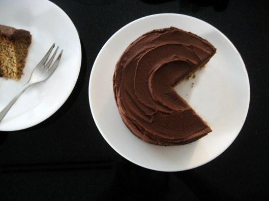 Chocolate & Coffee: Espresso Layer Cake with Chocolate Fudge Frosting