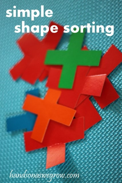 Learning Activity: Shape Sorting for Preschoolers