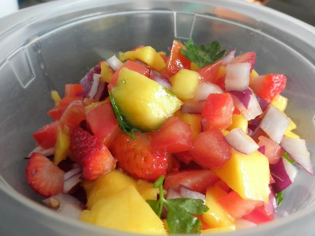 Strawberry Mango Salsa | Dinner With Rachel Blog Recipes | Pinterest