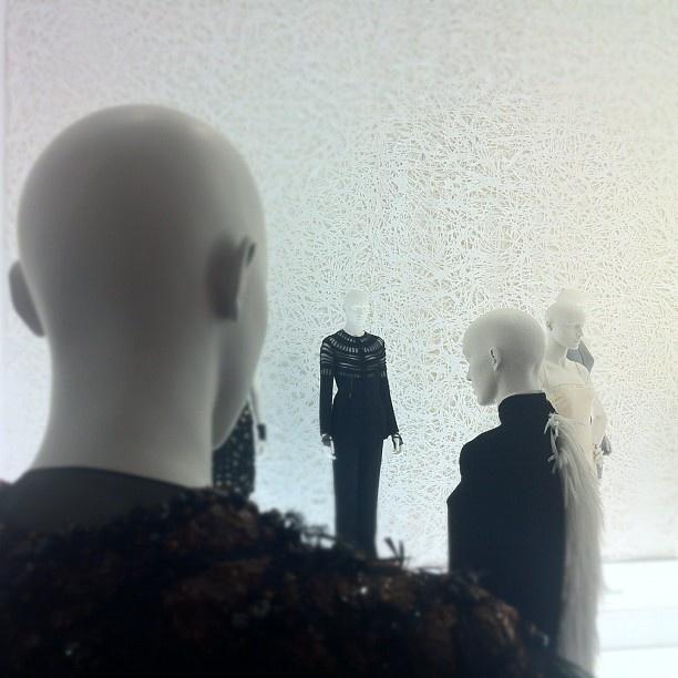 Ralph Rucci exhibition installation at #SCADMOA