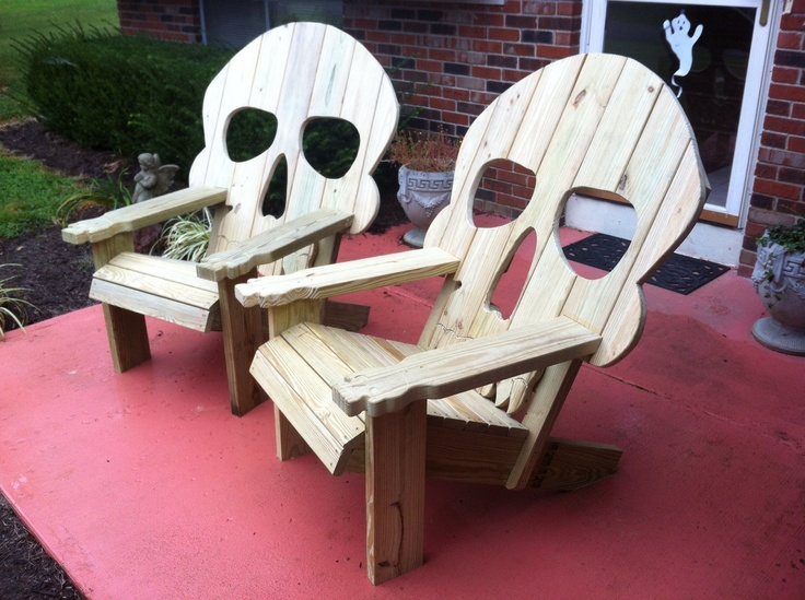 Adirondack Chair Plans Skull Easy Small Woodworking Projects