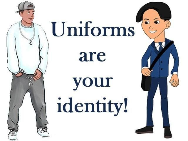should students be required to wear uniforms essay