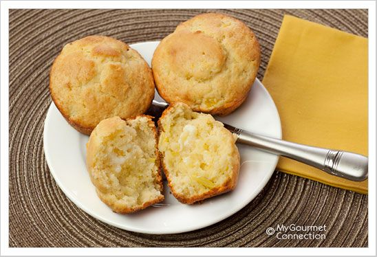 Pineapple Muffins: A light, delicately textured muffin made with fresh ...