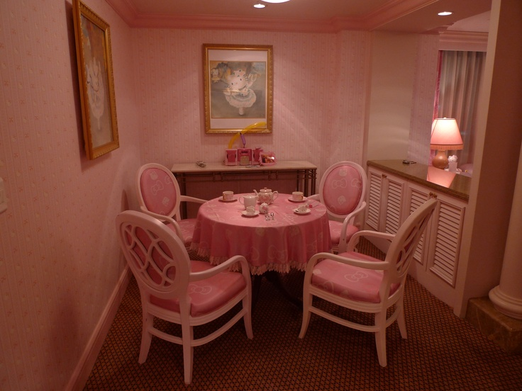 Hello Kitty Dining Room | Hello Kitty Kitchen | Pinterest