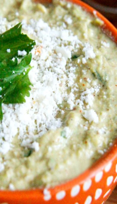 Cotija Honey Lime Avocado Dip/Spread | Recipe