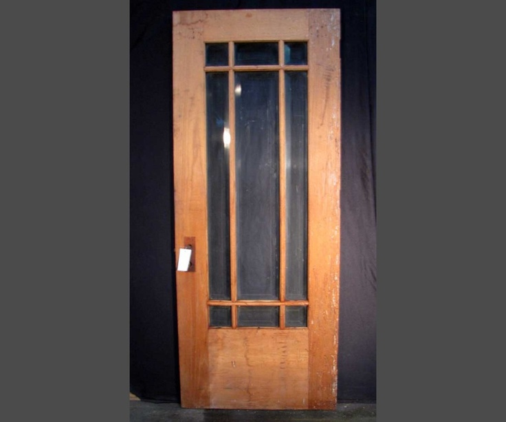 Arts And Crafts French Door To Deck Flagged Pinterest