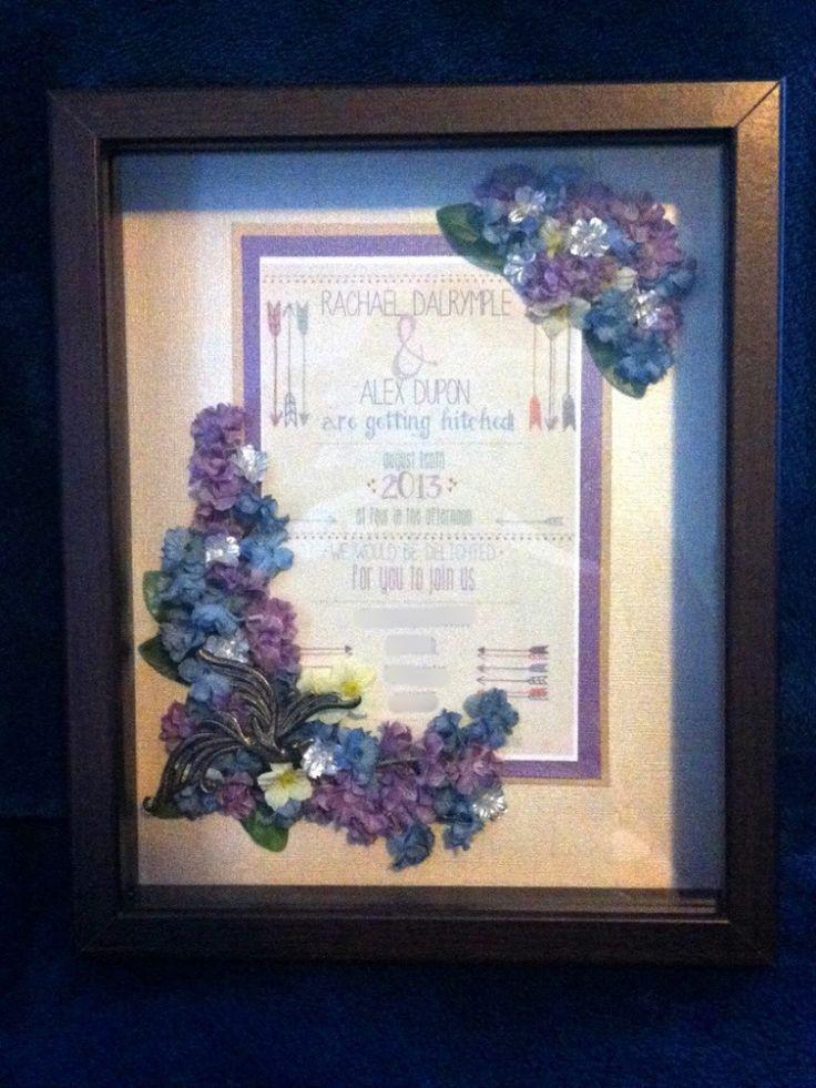 Homemade Wedding Gift Ideas Pinterest : Simple, Elegant DIY Wedding Gift Get Crafty Pinterest