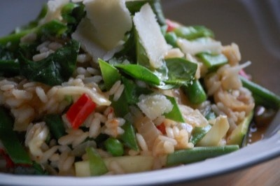 Day 12 - Spring Vegetable Risotto | Recipes | Pinterest