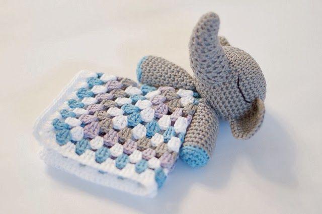 Free Pattern Crochet Lovey : free crochet pattern elephant lovey Crochet for babies ...