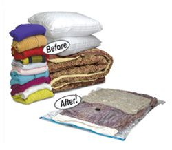 These Space Bags are great! Perfect for putting away seasonal clothes and extra blankets.  #Space #Moving #Storage $5.99 http://www.uhaul.com/MovingSupplies/Covers-bags/Space-Bags?mid=200