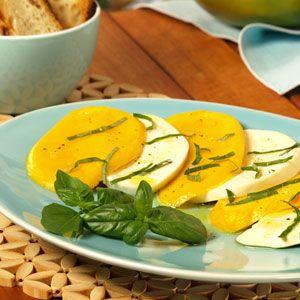 Mango Caprese Salad | Party Starters | Pinterest