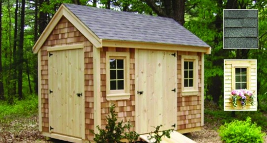 My new england garden shed plans haddi for New england shed plans