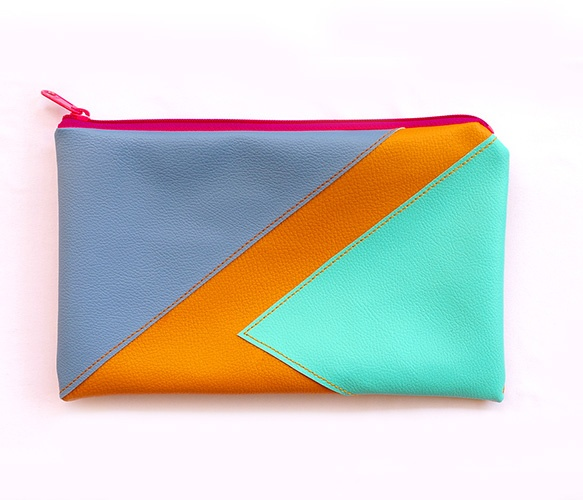Color Block Clutches  by LARK