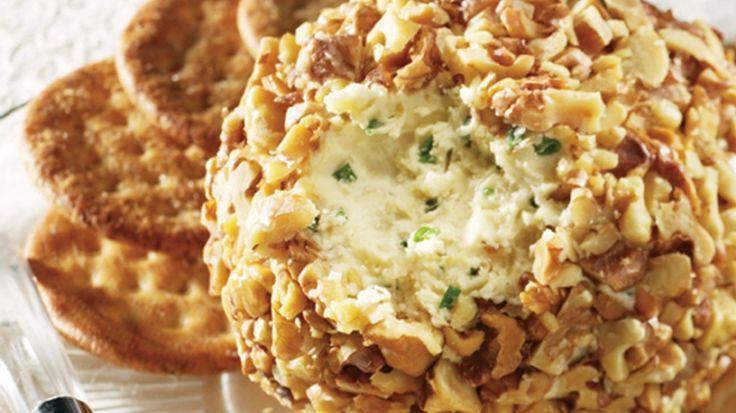 Date & Blue Cheese Ball Recipe — Dishmaps