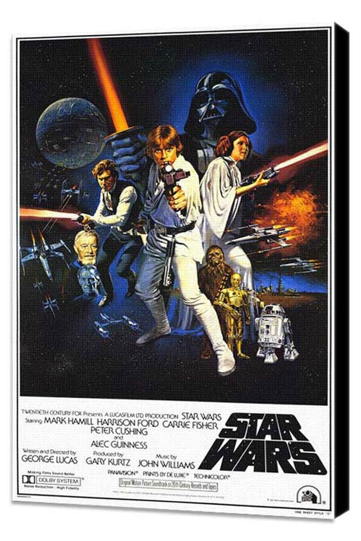 the original star wars movie poster entertainment