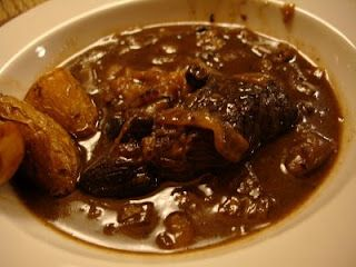 Braised Short Ribs With Porcini-Port Wine Sauce Recipes — Dishmaps