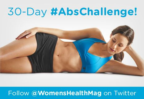 Flat abs are made in the gym—AND the kitchen. Use our workout tips and eating strategies to get a flatter stomach in 30 days!