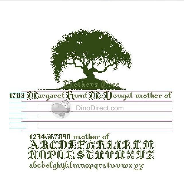 Mother Tree Pattern Counted Cross Stitch Kit - DinoDirect.