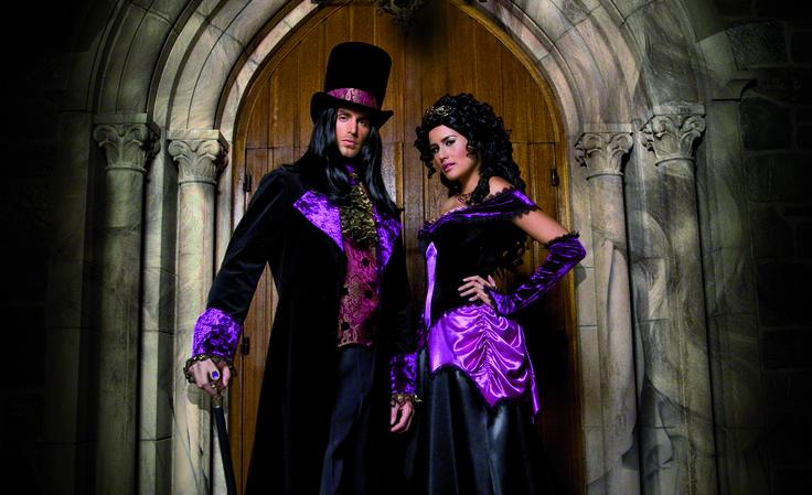 Déguisement Halloween couple Gothique