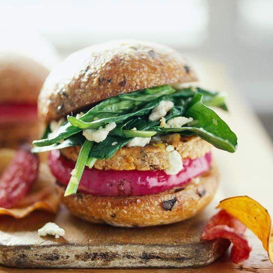 Beef Burger Alternativ... Garden Burger