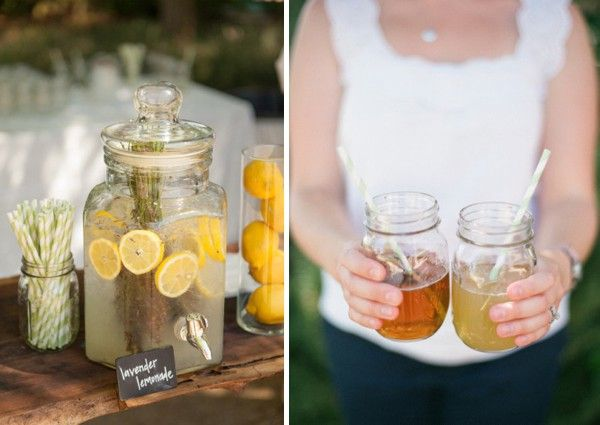 lavender infused lemonade
