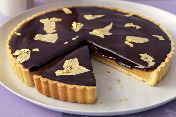 Chocolate caramel tart | Pies & Tarts | Pinterest