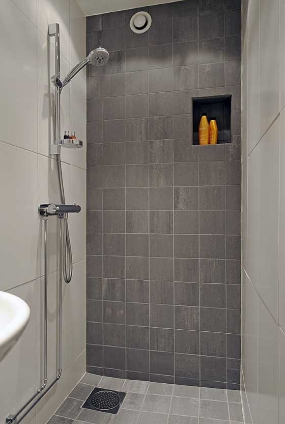 Open shower.  Things to Fill the Space  Pinterest