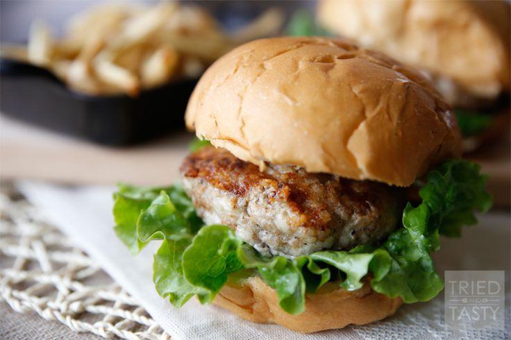Swiss Turkey Burger // Tried and Tasty