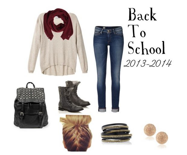 Cute, simple outfit for back to school. | Beth's Stuff | Pinterest