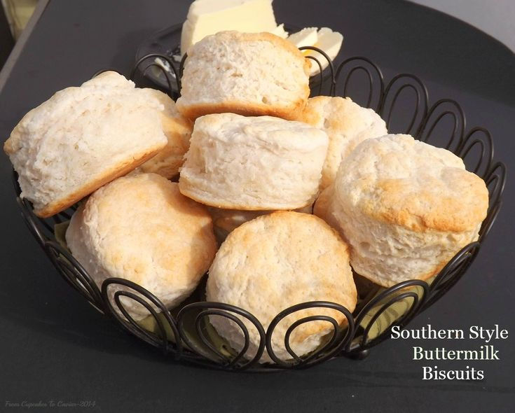 Southern Style Buttermilk Biscuits- moist, fluffy and tender, these ...